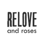 RELOVE and roses logo