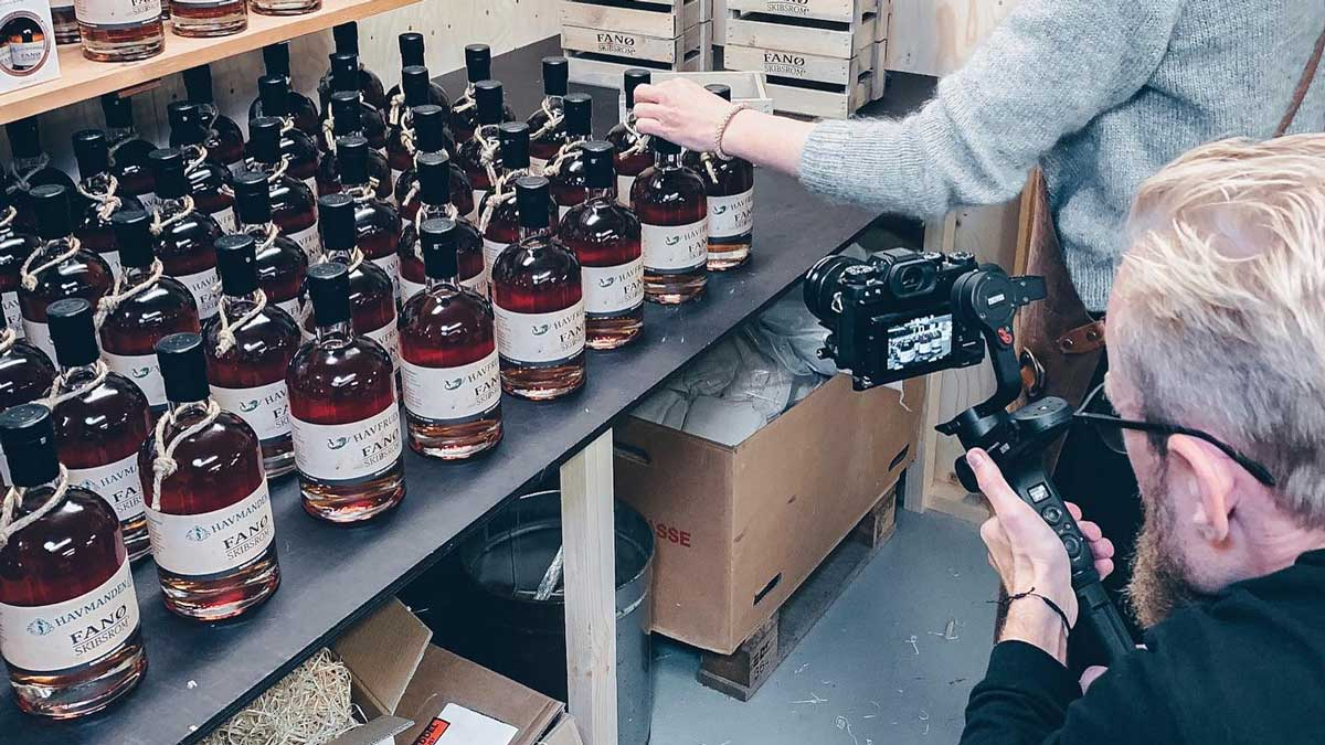 Video produktion hos Kobe Lab